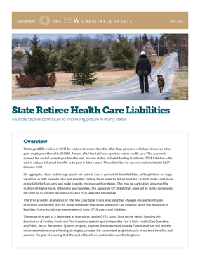 State Retiree Health Care Liabilities: Multiple Factors Contribute to Improving Picture in Many States