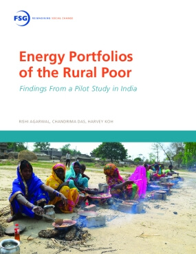 Energy Portfolios of the Rural Poor: Findings from a Pilot Study in India