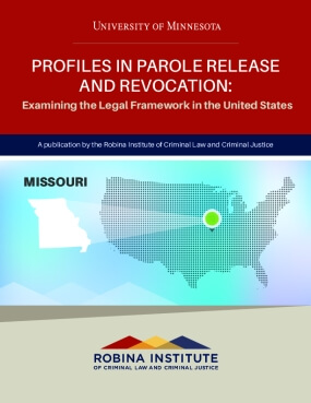 Profiles in Parole Release and Revocation Missouri